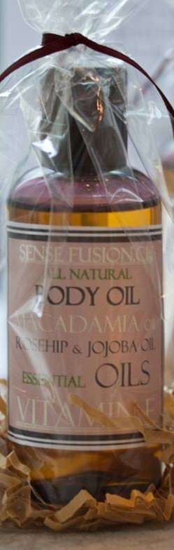 All Natural and Vegan Body Oil